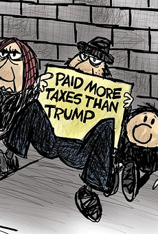 Paid more than Trump