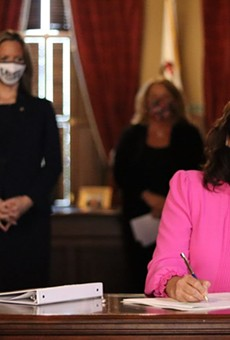 Gov. Gretchen Whitmer signs bill to give clerks more time to process absentee ballots.