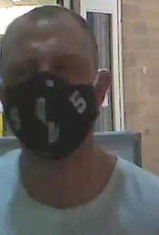 This man is accused of pooping in a Meijer store in Van Buren Township.