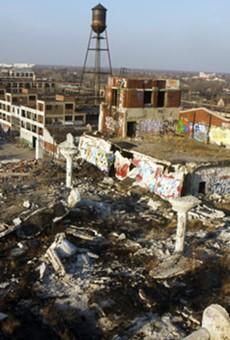 Packard Plant in Detroit.