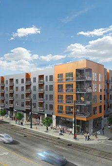 Rendering of Woodward West.