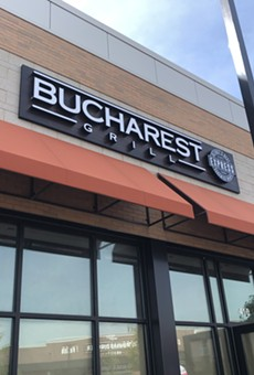 The Bucharest Grill at Woodward Corners in Royal Oak.