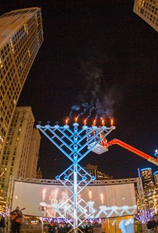 Menorah in the D will illuminate Campus Martius for 10th year, but asks people to watch from home
