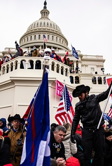Pro-Trump supporters storm the U.S. Capitol following a rally with President Donald Trump on January 6, 2021 in Washington, D.C.