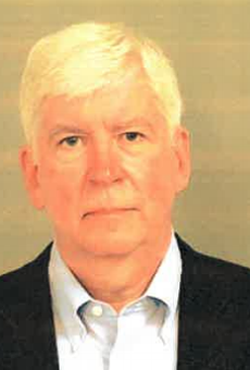 Mugshot of former Governor Rick Snyder.
