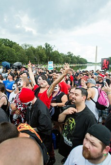 "In 2017 Insane Clown Posse held a ""March of the Juggalos,"" a peaceful protest in Washington, D.C. that drew more than 1,500 fans to challenge the FBI designation's of the group as a ""hybrid gang."" They were better behaved than Trump supporters."