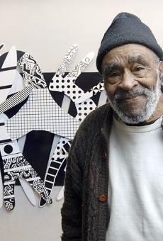 Detroit artist Charles McGee.