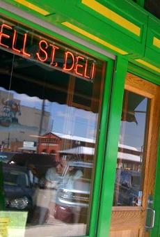 The former Russell Street Deli.