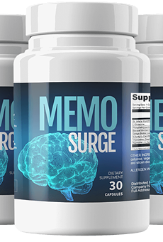 MemoSurge Reviews - Is MemoSurge Ingredient Safe & Effective? Any Side Effects? Real Reviews