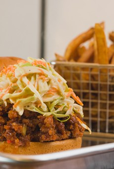 Joe Louis Southern Kitchen's Sloppy Joe.