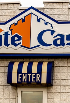 A White Castle restaurant in Roseville.