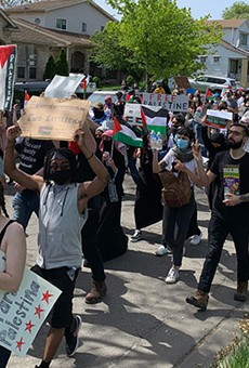 No, 250k people did not march for Palestine in Dearborn