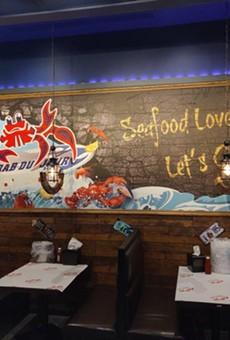 A Crab Du Jour restaurant.