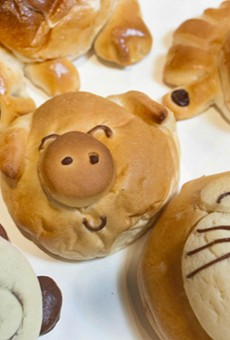 We visited the home of the hot dog doughnut and other adorable Japanese pastries
