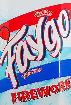 "Faygo's new ""Firework"" flavor."