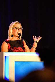 """According to Sen. Sinema, it's """"best for democracy"""" that Democrats sit on their hands."""