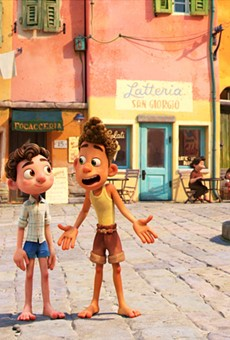 Luca's titular character and his friend, Alberto.
