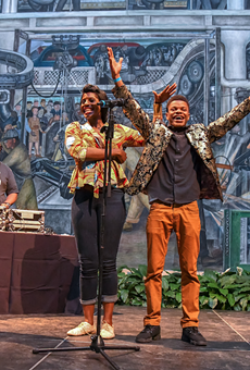 Youth perform at an MC Olympics competition at the Detroit Institute of Arts. The Knight Foundation is accepting applications for the 2021 Knight Arts Challenge.