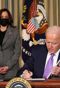 After seven months and four packages, it appears the Biden administration finally has its winner.