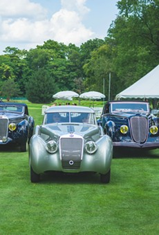 Concours d'Elegance will move from the Inn at St. Johns to the DIA next year.