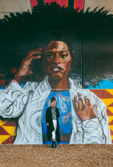 BLKOUT Walls Mural Festival to take place July 24-31; work by Sydney G. James.