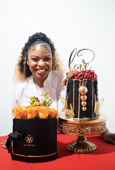 Chef Cynthia Love will debut cheescake egg rolls to celebrate National Cheesecake Day.