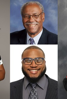 Some of the candidates running against incumbent Detroit Mayor Mike Duggan.