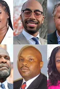 Some of the candidates in Detroit's highly competitive City Council race.