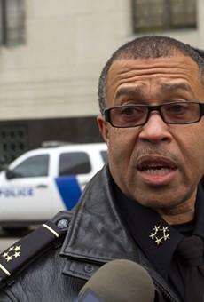 Retired Detroit Police Chief James Craig.