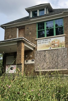 """Wayne County recently foreclosed on Detroit's """"Motown Movement"""" house after it fell behind in taxes."""
