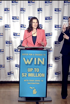 Gov. Gretchen Whitmer announced a vaccine lottery with a goal to increase COVID-19 vaccinations by 9% — by July 30, Mich. only had a 2% increase.