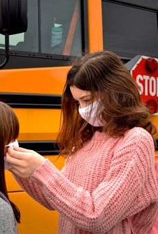 Macomb County parents are calling on local officials to enact a mask mandate for students as COVID-19 cases increase among children.