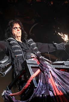 Alice Cooper will sign your copy of 'Detroit Stories', human blood sold separately.