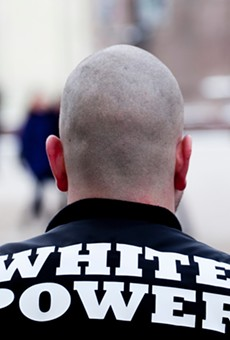 Three members of The Base, a neo-Nazi movement, who have been charged.