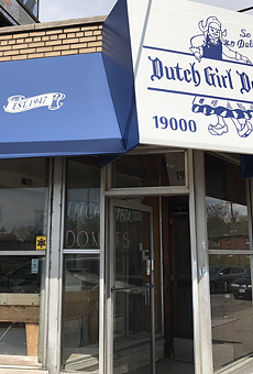 Dutch Girl Donuts is located at 19000 Woodward Ave. in Detroit.
