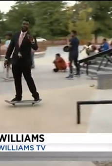 """WDIV-TV's Victor Williams is """"cool."""""""