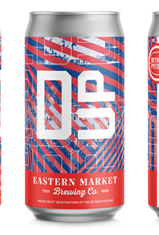 Eastern Market Brewing Co.'s limited edition Pistons can.