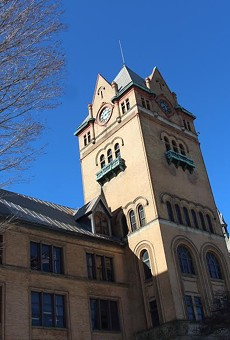 Wayne State University's Old Main building.