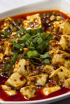 Ma Po Tofu.