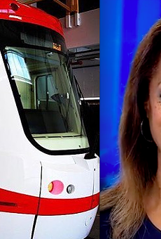 Carmen Harlan will voice on-board announcements for the QLine.