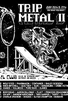 Trip Metal Fest 2 is free (if you want it), headlined by Kim Gordon, Pharmakon, Wolf Eyes