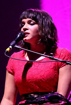 Norah Jones covered Soundgarden at Fox Theatre last night