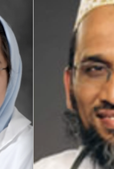 Dr. Jumana Nagarwala (left) and Dr. Fakhruddin Attar (right) along with Attar's wife, are accused of female genital mutilation.