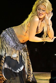 Shakira, proving those hips don't lie.