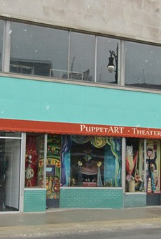 PuppetART theatre on 25 E. Grand River in downtown Detroit.