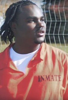 "Tee Grizzley in the ""First Day Out"" video."