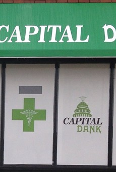 A medical marijuana dispensary in Lansing.