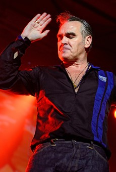 Is Morrissey going on tour and stopping in Michigan?