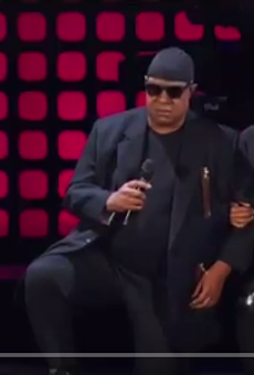 Stevie Wonder took a knee during concert over the weekend