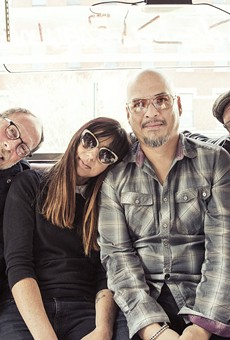 The Pixies, from left: David Lovering, Paz Lenchantin, Joey Santiago, and Black Francis.